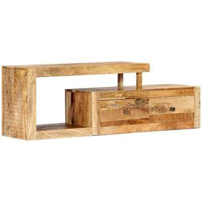 TV Cabinet 120x30x40 cm Solid Mango Wood - VIDAXL