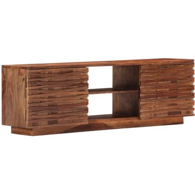 TV Cabinet 120x30x40 cm Solid Sheesham Wood - VIDAXL