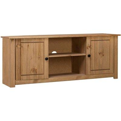 TV Cabinet 120x40x50 cm Solid Pine Wood Panama Range - VIDAXL