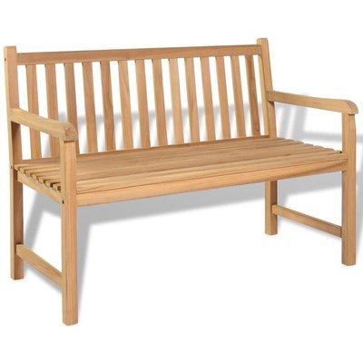 Garden Bench 120 cm Teak - VIDAXL