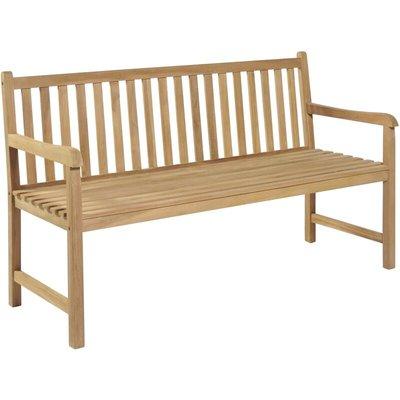 Garden Bench 150 cm Teak - VIDAXL