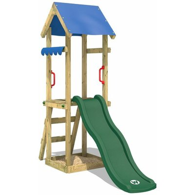 Climbing frame TinySpot with slide and sandpit - Wickey