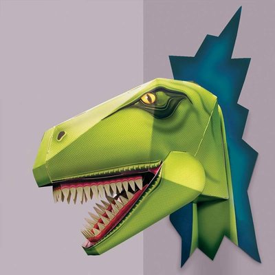 Build A Terrible T Rex Dinosaur Head