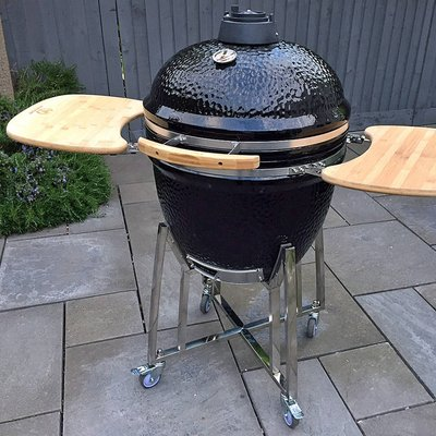 The Steak Stones Kamado Smoker And Grill