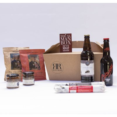 Xl Man Box Beer And Food Hamper