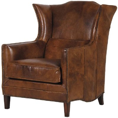 Cuban Cigar Leather Armchair