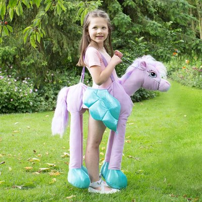 Children's Ride On Fairytale Pony Dress Up Costume