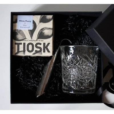 Premium Tea + Tea Glass + Infuser Gift Set