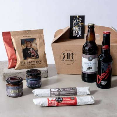 Merry Christmas Dad Xl Man Box Beer Hamper