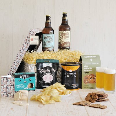 Gluten Free Beer And Snacks Hamper