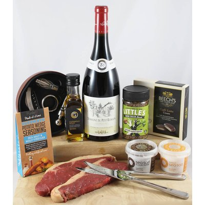 Just For Him Steak And Wine Gift Box
