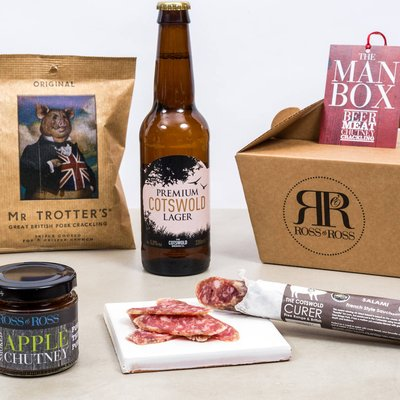 Man Box Beer Gift Set