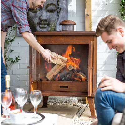 Outdoor Stove Fireplace