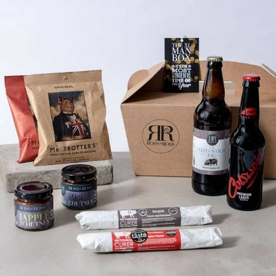 Wonderful Christmas Xl Man Box Beer Hamper