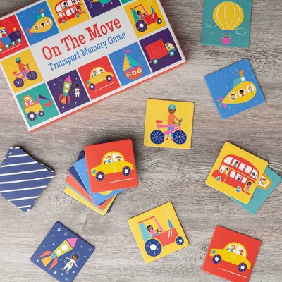 On The Go Memory Game