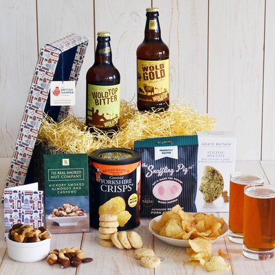 Beer And Bar Snacks Hamper