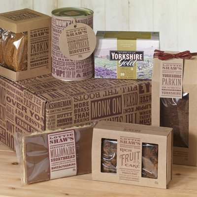 Yorkshire Afternoon Tea Hamper Box
