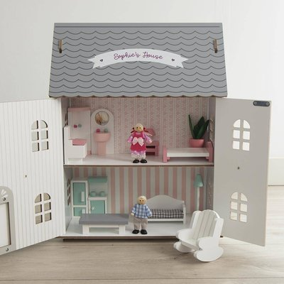 Personalised Large Wooden Dolls House