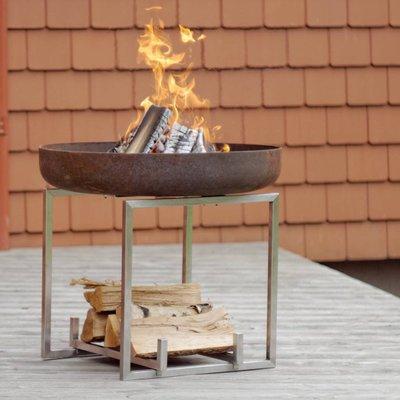 Cube Steel Fire Pit