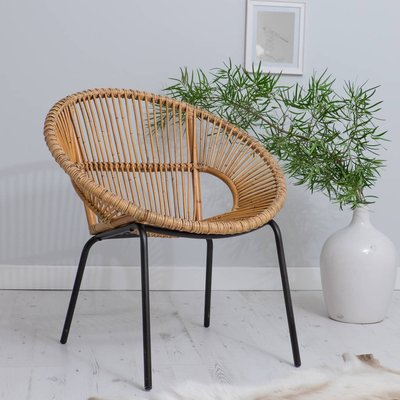 Bamboo Tub Chair Choose From Two Colours