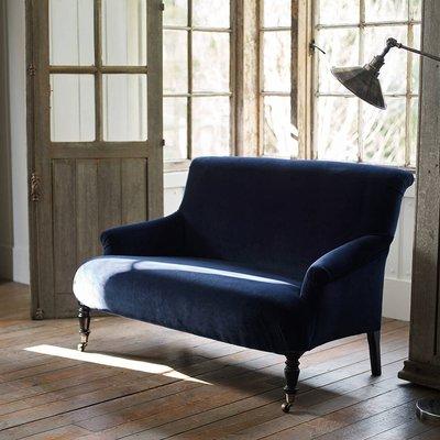 Finley Velvet Sofa, Grey