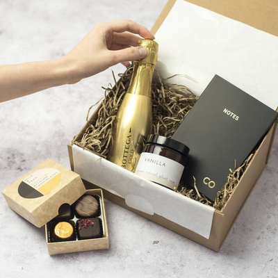 Personalised Thank You Gift Box