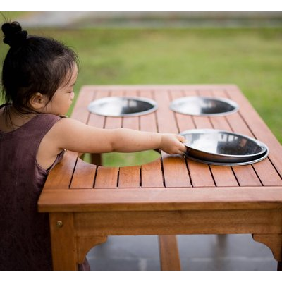 Outdoor Rectangular Mixing Table