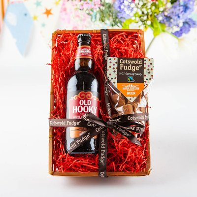 Beer And Fudge Hamper