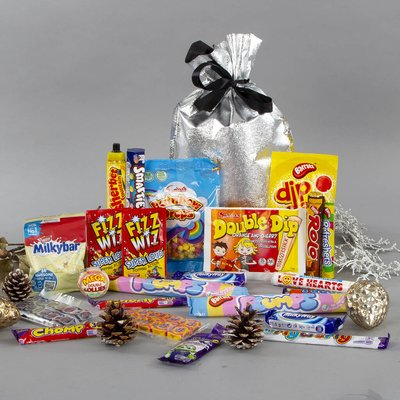 Tear And Share Retro Sweets Confectionery Gift
