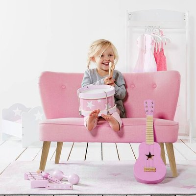 Kids Pink Sofa