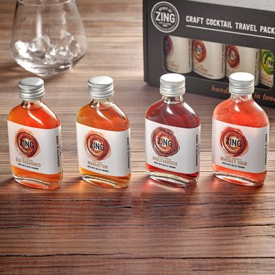 Whiskey Lovers Cocktail Travel Pack