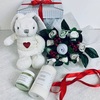 Valentine's Day Bunny Welcome Baby Hamper