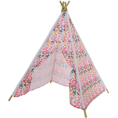 Childs Butterfly Print Outdoor Teepee