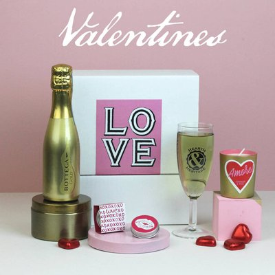 Valentines Love Box With Prosecco
