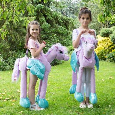 Children's Ride On Fairytale Pony Dress Up Costume
