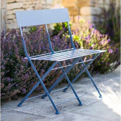 Willow Blue Garden Bench, Blue