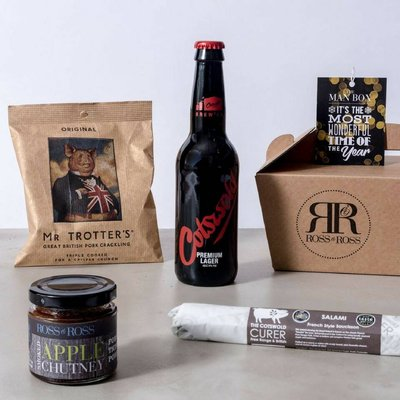 Wonderful Christmas Man Box Beer Hamper
