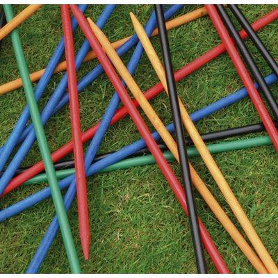 Wooden Pick Up Sticks Garden Game
