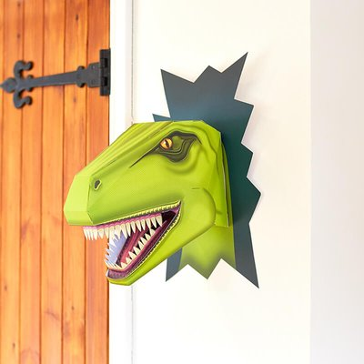 Build a Terrifying T-Rex Head