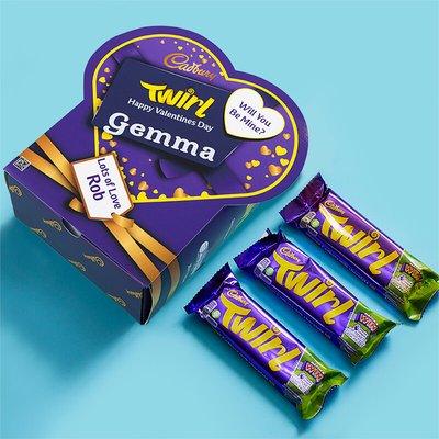 Personalised Valentines Favorites Box - Twirl