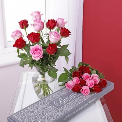 Personalised Letterbox Roses