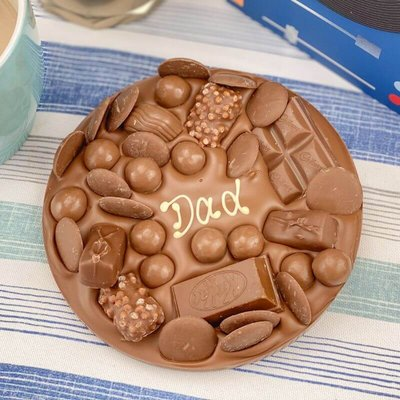 Personalised Letterbox Chocolate Slab
