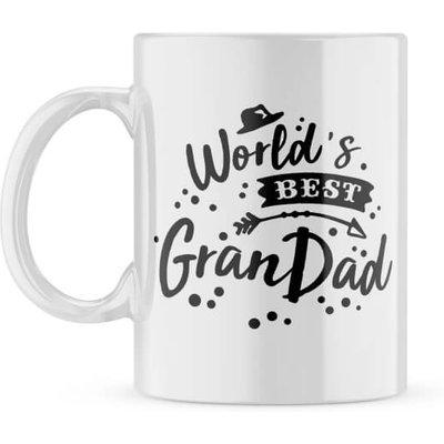 Personalised Best Grandad Photo Mug