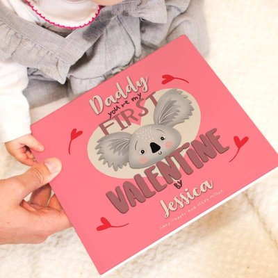 Personalised 'You're My First Valentine' Book For Parents
