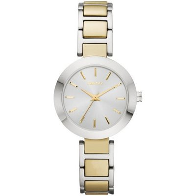 DKNY NY8832 Women s Stanhope Stainless Steel Bracelet Strap Watch  Silver Gold - 4053858047846