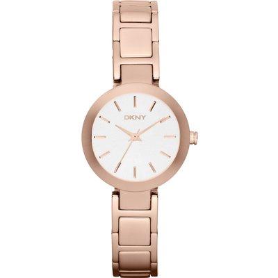 DKNY NY8831 Women s Stanhope Stainless Steel Bracelet Strap Watch  Rose Gold White - 4053858047853