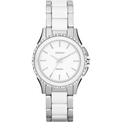 DKNY Watch Chambers Ceramic Ladies - 4051432953774