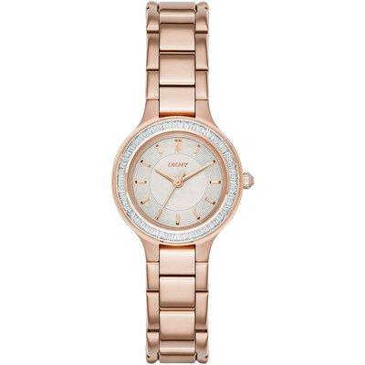 DKNY Women s Chambers Stainless Steel Bracelet Strap Watch - 4053858512979
