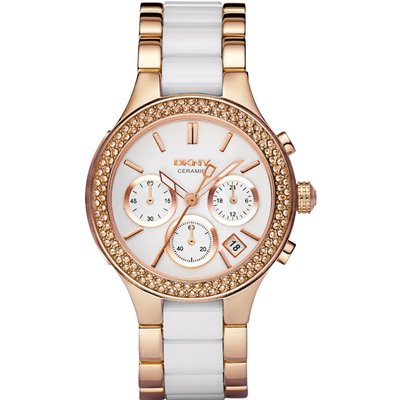 DKNY Watch Chambers Ceramic Ladies - 4051432089015