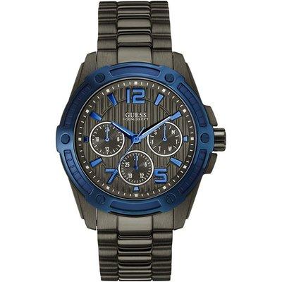 Guess Men s Flagship Chronograph Watch  W0601G1  - 091661448058